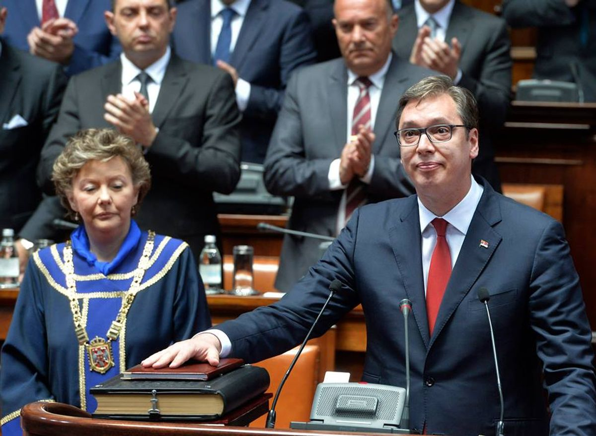 Aleksandar Vučić novi predsednik Srbije