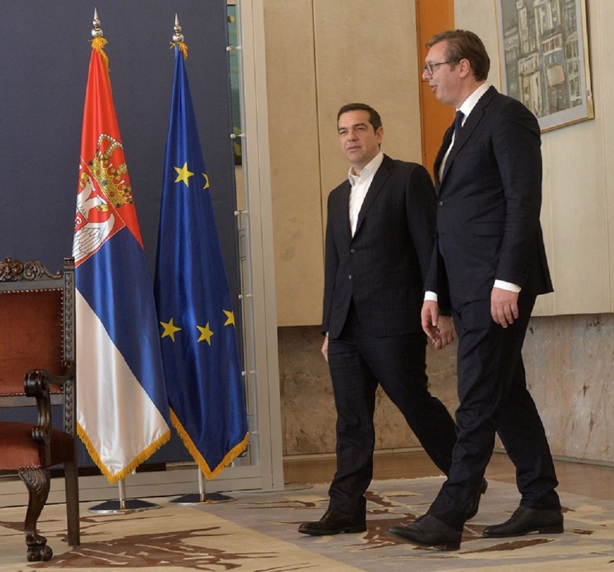 Sastanak sa predsednikom Vlade Republike Grčke