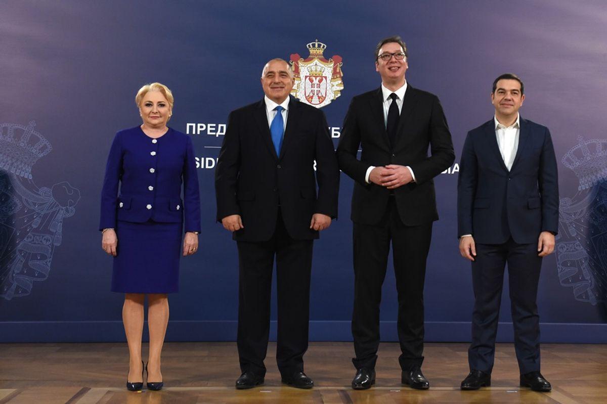 Sastanak predstavnika Visokog saveta za saradnju Republike Srbije, Republike Bugarske, Republike Grčke i Rumunije