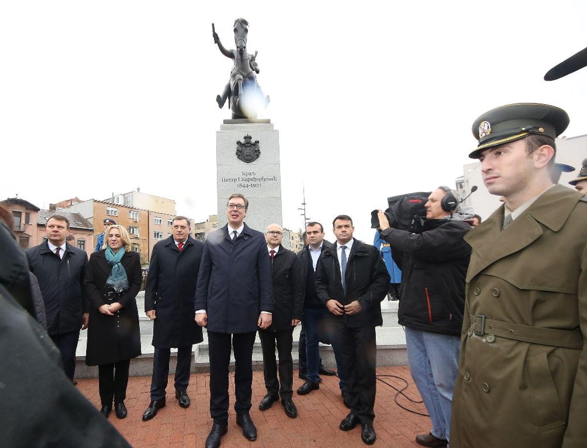 Председник Вучић на свечаности поводом стогодишњице присаједињења Војводине Краљeвини Србији