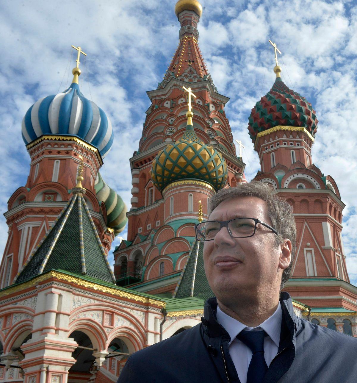 Predsednik Vučić u radnoj poseti Moskvi