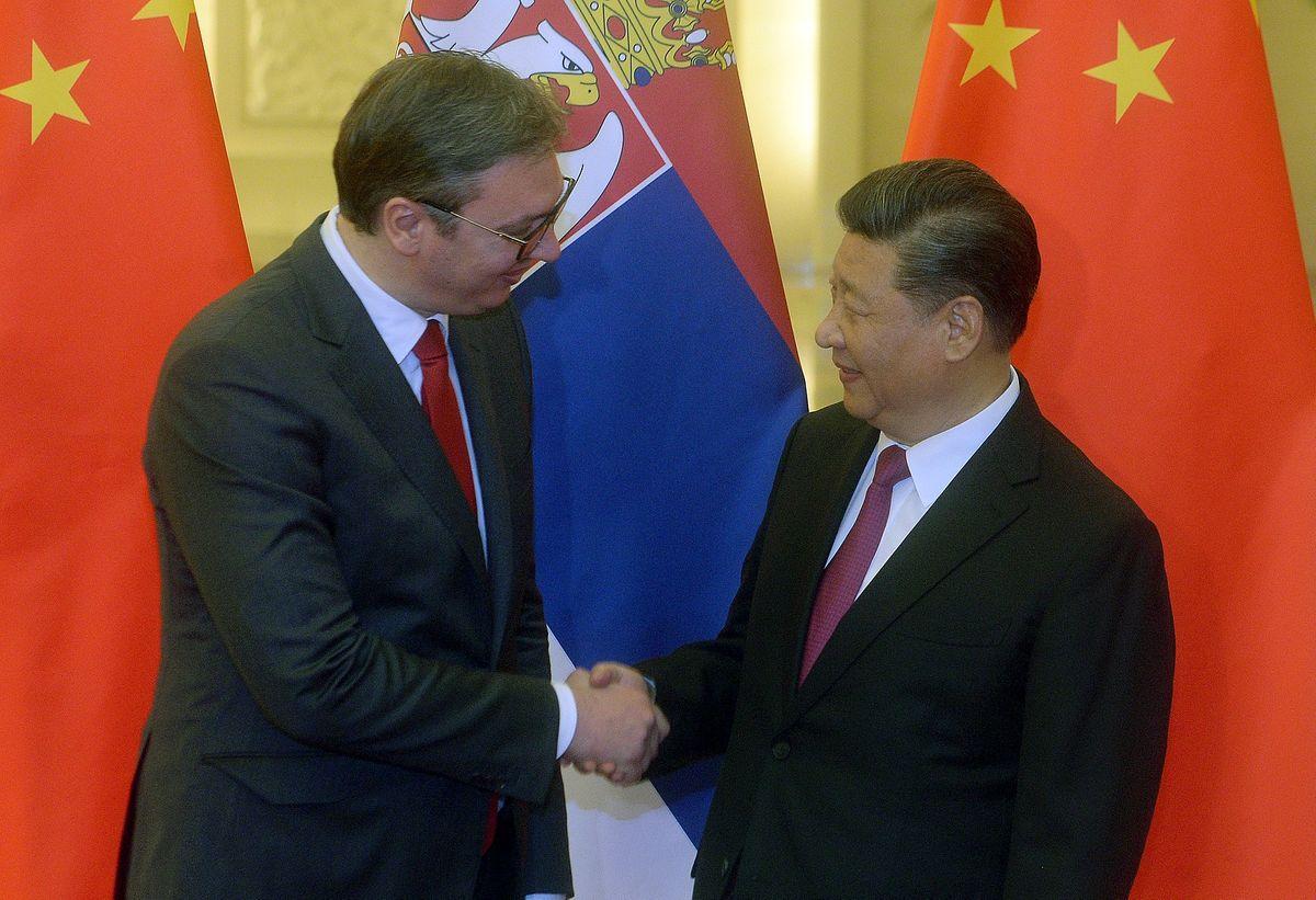 Председник Вучић са председником НР Кине Си Ђинпингом