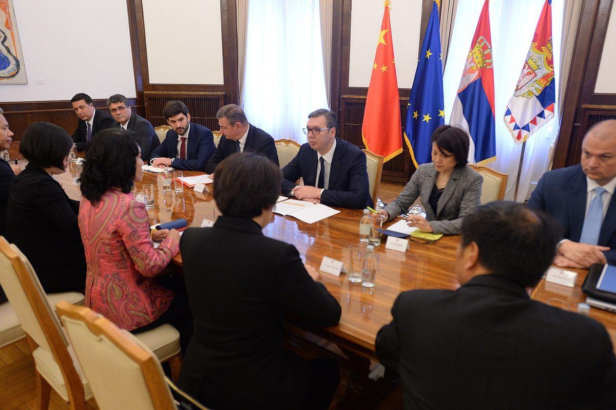 Састанак са делегацијом кинеске компаније Шинју (Xingyu)